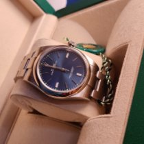Rolex Oyster Perpetual 39 Steel 39mm Blue No numerals India, Pune