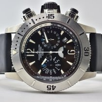 Jaeger-LeCoultre Master Compressor Diving Chronograph pre-owned 44mm Black Chronograph Date Rubber