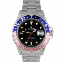 Rolex 16700 Steel GMT-Master 40mm pre-owned United States of America, New York, Massapequa Park