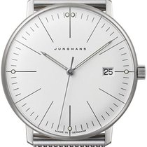Junghans max bill Ladies Steel 32.7mm White