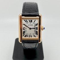 Cartier Tank Solo W5200024 Meget god Rosa guld 31mm Kvarts