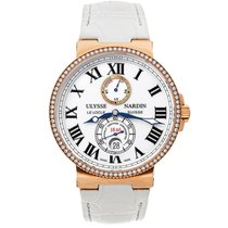 Ulysse Nardin Marine Chronometer 43mm Rose gold 43mm White Roman numerals United States of America, New York, Greenvale
