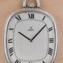 Ebel pre-owned Manual winding 34mm Silver Plexiglass