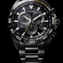 Citizen Steel 44mm Quartz CB5037-84E new