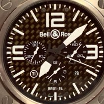 Bell & Ross BR 01-94 Chronographe Steel 46mm Black Arabic numerals United States of America, Ohio, Columbus