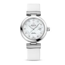 Omega De Ville Ladymatic Steel 34mm Mother of pearl No numerals United States of America, New York, New York