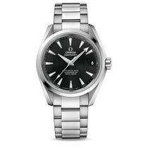 Omega Seamaster Aqua Terra Steel 38.5mm Black No numerals United States of America, New York, New York