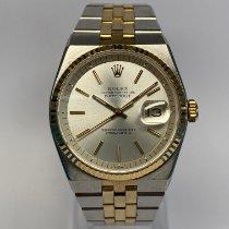 Rolex Datejust Oysterquartz Gold/Steel 36mm Champagne No numerals