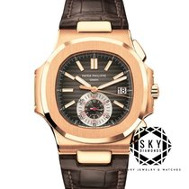 Patek Philippe Nautilus new Automatic Chronograph Watch with original box and original papers 5980R-001