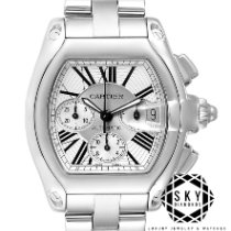 Cartier Roadster Steel Silver Roman numerals United States of America, New York, New York