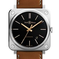 Bell & Ross BR S Steel 39mm Black Arabic numerals United States of America, Texas, Houston