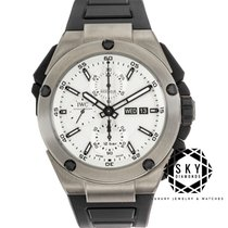 IWC Ingenieur Double Chronograph Titanium new Automatic Watch with original box and original papers IW386501