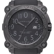 Hamilton Khaki Navy BeLOWZERO Steel 46mm Black Arabic numerals United States of America, California, Los Angeles