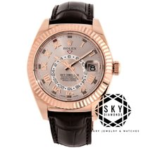 Rolex Sky-Dweller Or rose 42mm Rose Arabes