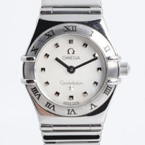 Omega Constellation Quartz pre-owned 24mm Mother of pearl Steel