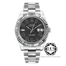 Rolex Datejust II Steel 41mm Black No numerals United States of America, New York, New York