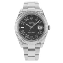 Rolex Datejust II Steel 41mm Black No numerals United States of America, New York, New York