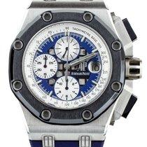 Audemars Piguet Platinum Automatic Blue new Royal Oak Offshore Chronograph