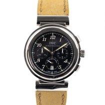IWC Da Vinci Chronograph Stal 37mm Czarny Arabskie Polska, Warszawa