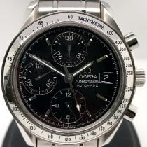 Omega Speedmaster Date Steel 39mm Black No numerals United States of America, New York, New York