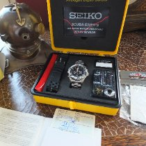 Seiko Staal 46mm Quartz 7K52-6A19 Seiko Scuba Diver Box & Papiere Deutsche Uhr tweedehands