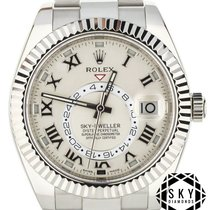 Rolex Sky-Dweller White gold 42mm White Roman numerals United States of America, New York, New York