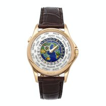 Patek Philippe World Time Rose gold 39.5mm White United States of America, New York, New York