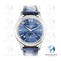 Patek Philippe Minute Repeater Perpetual Calendar Oro bianco 41mm Blu Senza numeri
