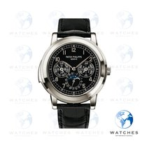 Patek Philippe Minute Repeater Perpetual Calendar Platinum Black United States of America, New York, New York