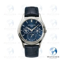Patek Philippe Perpetual Calendar Platinum Blue United States of America, New York, New York