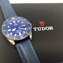 Tudor Pelagos pre-owned 42mm Blue Date Titanium
