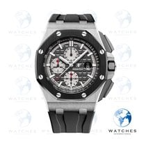 Audemars Piguet 26400IO.OO.A004CA.01 Titanium 2018 Royal Oak Offshore Chronograph 44mm pre-owned United States of America, New York, New York