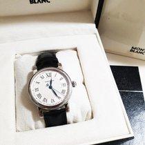 몽블랑 스틸 36mm 자동 Mont Blanc Star Date Automatic 107114 중고시계