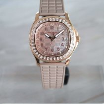 Patek Philippe Aquanaut Rose gold 35.6mm Mother of pearl