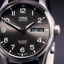 Oris Big Crown ProPilot Day Date Steel 45mm Grey Arabic numerals