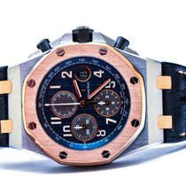 Audemars Piguet Royal Oak Offshore Chronograph Gold/Steel 42mm Blue Arabic numerals Malaysia, Malaysia