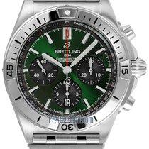Breitling Acero Automático Verde 42mm nuevo Chronomat