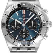 Breitling ab0134101c1a1 Steel 2021 42mm new United States of America, New York, Airmont
