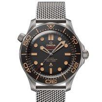 Omega Seamaster Diver 300 M Titanium 42mm Black No numerals Singapore, Singapore