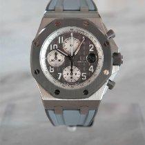 Audemars Piguet Royal Oak Offshore Chronograph Titan 42mm Grau Arabisch
