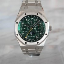 Audemars Piguet Royal Oak Perpetual Calendar Steel 41mm Green