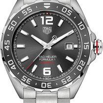 TAG Heuer Formula 1 Calibre 5 Steel 43mm Grey Arabic numerals United States of America, California, Moorpark