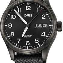 Oris Big Crown ProPilot Day Date Steel 45mm Black Arabic numerals United States of America, California, Moorpark