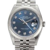 Rolex Datejust Steel 36mm Blue United States of America, New York, New York