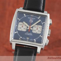 TAG Heuer Monaco CW2113-0 2002 pre-owned