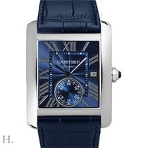 Cartier Tank MC neu Automatik Uhr mit Original-Box und Original-Papieren WSTA0010
