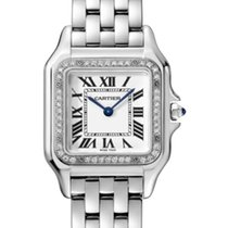 Cartier Panthère Staal 27mm Zilver