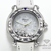 Chopard Happy Sport Acier 32mm Blanc Arabes