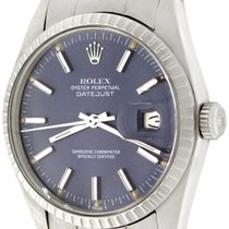 Rolex Datejust pre-owned 36mm Blue Steel