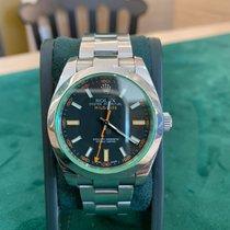 Rolex Milgauss Acier 40mm Noir Sans chiffres France, nice